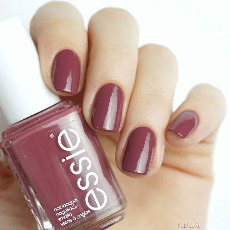 Brush on this lush, deep dusty rose polish and you'll never want to take it off. It's one stylish sweater for every fashion season. Shop 'angora cardi': http://www.essie.com/Colors/plums/angora-cardi.aspx