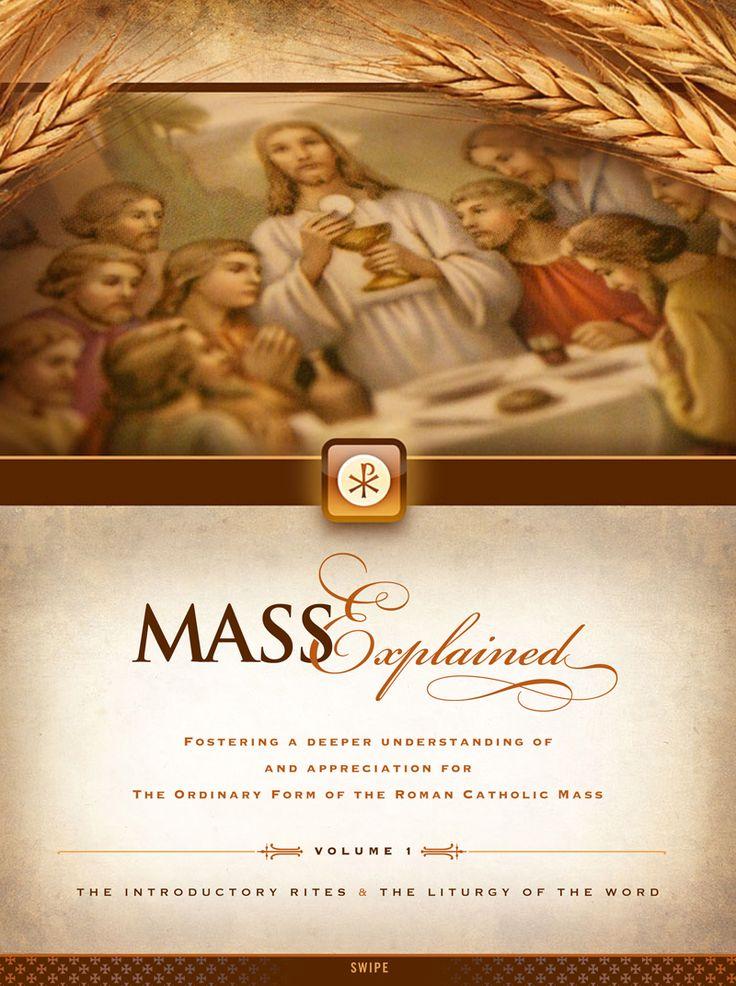 Catholic Mass Crafts  The Roman Catholic Mass Explained