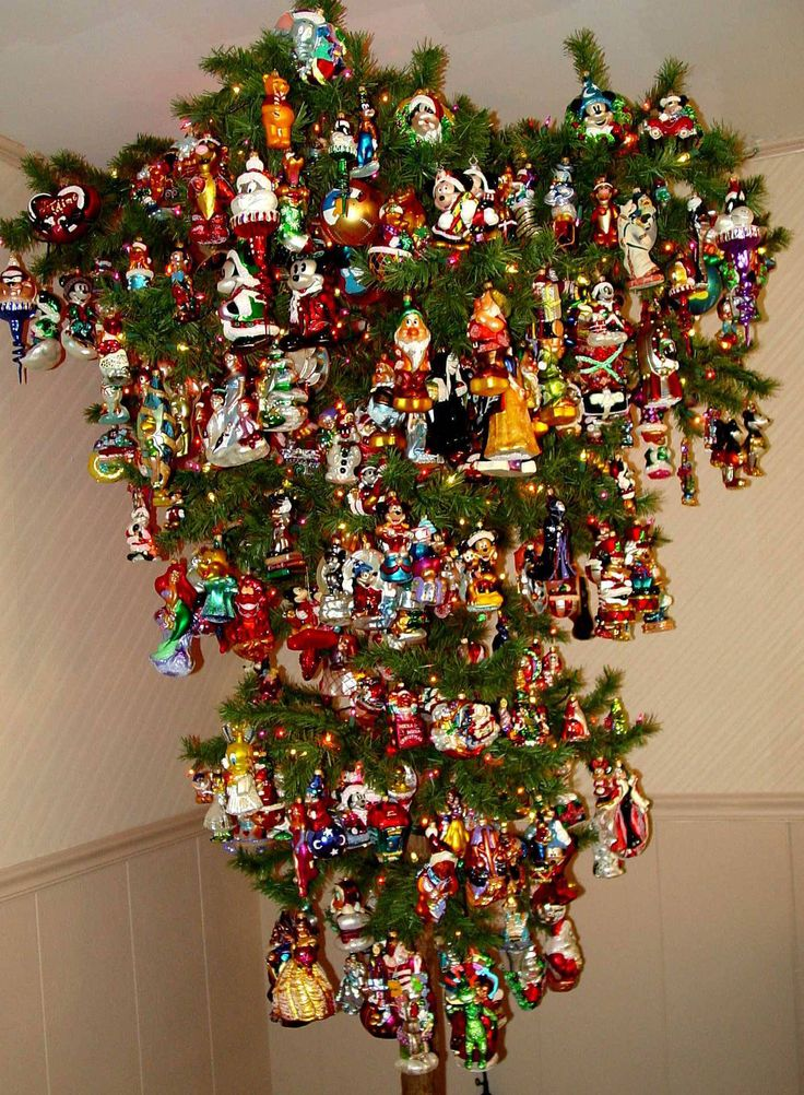 Decorated Christmas Tree Not Taking Water : Best images about favorite upside down christmas tree
