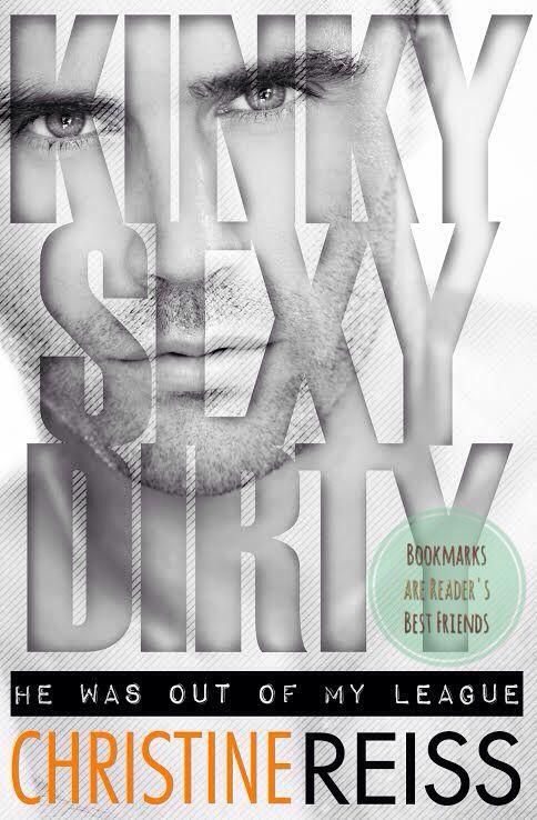 Sul blog il cover release di Kinky Sexy Dirty di Christine Reiss in uscita a marzo 2016! Venite a leggere la trama tradotta in italiano da me e commentate con i vostri pensieri su questo romanzo, il primo della serie Kinky Bastard --> http://bookmarksarereadersbestfriends.blogspot.it/2015/11/cover-reveal-kinky-sexy-dirty-di.html?m=1
