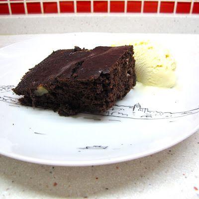 Cozinhar sem Lactose: Brownie de feijão preto