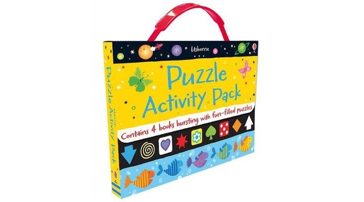 Puzzle Activity Pack - Usborne - Fejlesztő játékok az Okosodjvelünk webáruházban