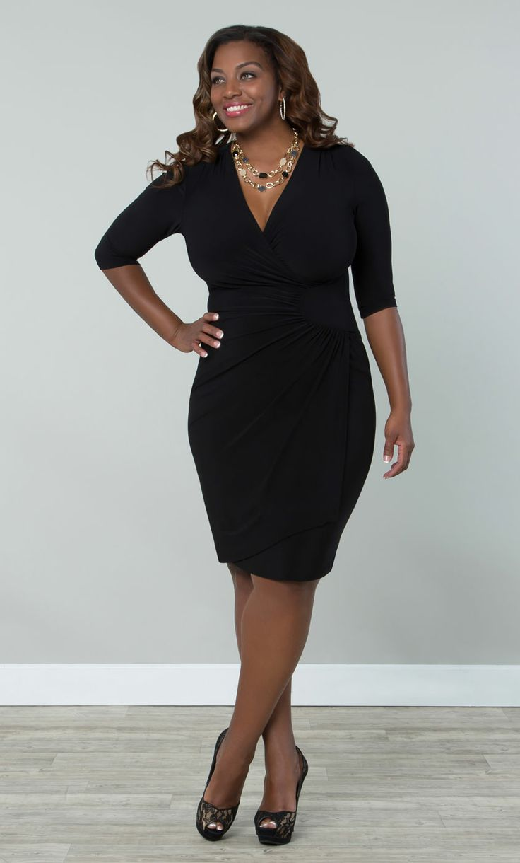 Our plus size Ciara Cinch Dress is just that…a cinch! A ...