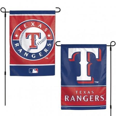 Texas Rangers Flag 12x18 Garden Style 2 Sided Texas Rangers Mlb Texas Rangers Ranger