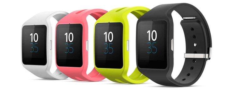 Sony SmartWatch 3. Android™ Wear watch.
