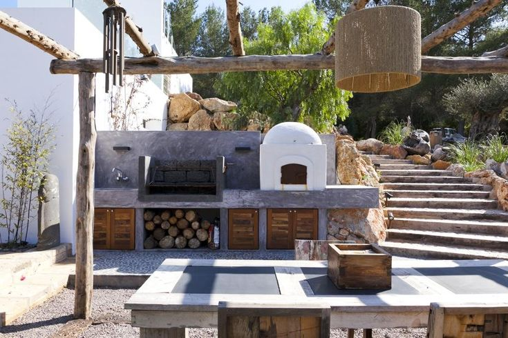 San Lorenzo Lux | Spain | Ibiza | Ibiza Like this as its combines a few needs and some space to put things whilst BBQ.  Should keep costs down before we can afford an outside kitchen