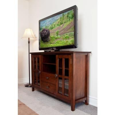 Simplihome - Holden Collection Tall TV Stand - AXCHOL005 - Home Depot Canada