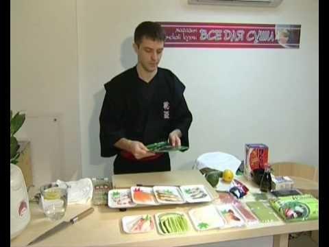 Мастер-класс: приготовление суши дома. Часть 1.