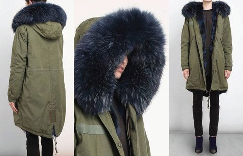 Mr and Mrs Furs Parka