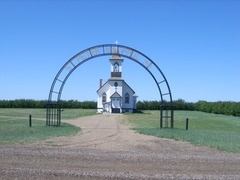 St. Peters and Pauls Church, Acadia Valley, Alberta