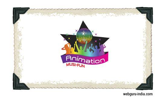 Animation MusiFun Logo - Dazzle  Learn more ► http://www.webguru-india.com/blog/top-8-trends-of-logo-design-in-2015/