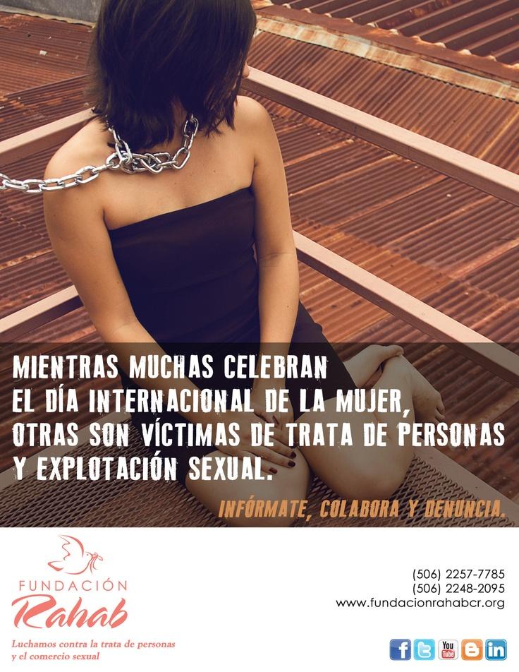 Celebremos el Día Internacional de la Mujer, pero también denunciemos la violación de sus derechos.