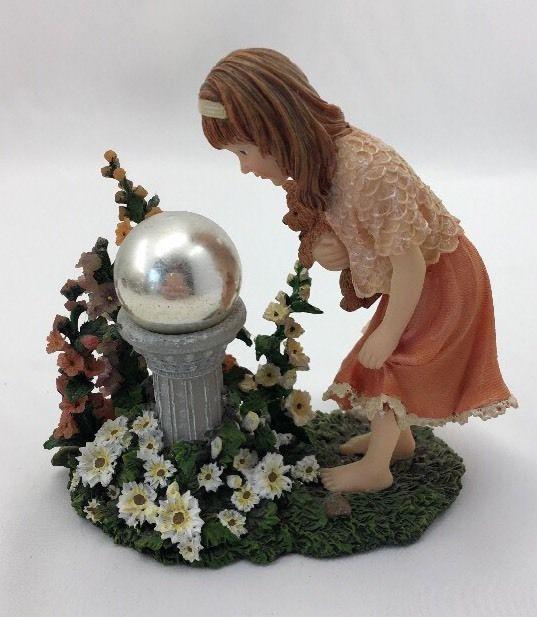 Boyds Bear Yesterday's Child Amanda Garden Reflection Dollstone Figurine 35003  | eBay