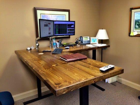 16 best Modern Standing Desks images on Pinterest Standing desks