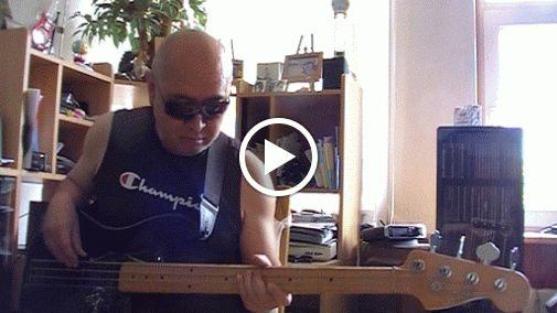 Where Rosses grow Gospel BluesRock Bass cover Bob Roha