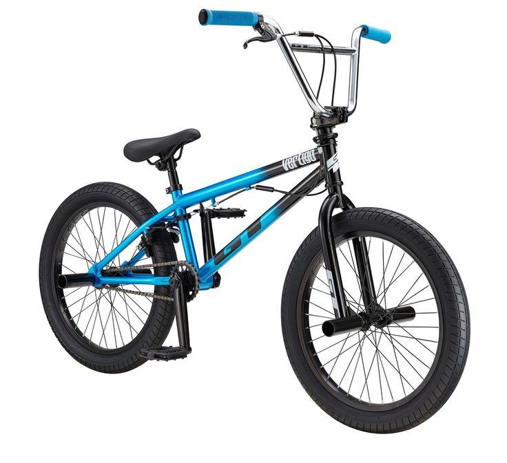 GT Kids' Vertigo Expert 20'' BMX Bike, Blue 20 bmx bike
