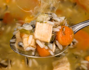 Chicken and Wild Rice Stew: Gourmet Mom, Food Recipes, Recipes Chicken, Chicken Soups, Soups Recipes, Chicken Noodles Soups, Families Food, Favorite Recipes, Wild Rice Soups