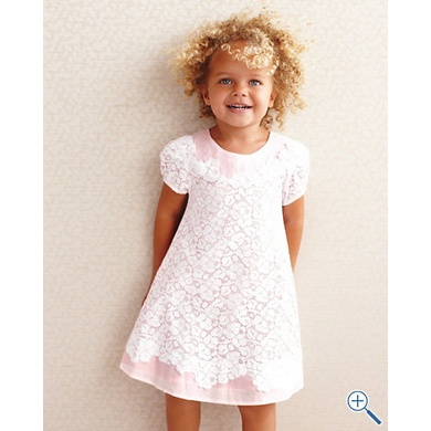 Lace Overlay Dress by Isabel Garreton - Baby Girls & Girls  Elegant #Dresses for #Stylish Little #Girls