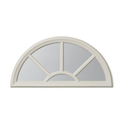 ODL Canada 66011RD Sunburst Entry Door Glass Insert