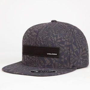 VOLCOM Badge Mens Snapback Hat 250240111   Snapbacks