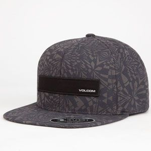 VOLCOM Badge Mens Snapback Hat 250240111 | Snapbacks