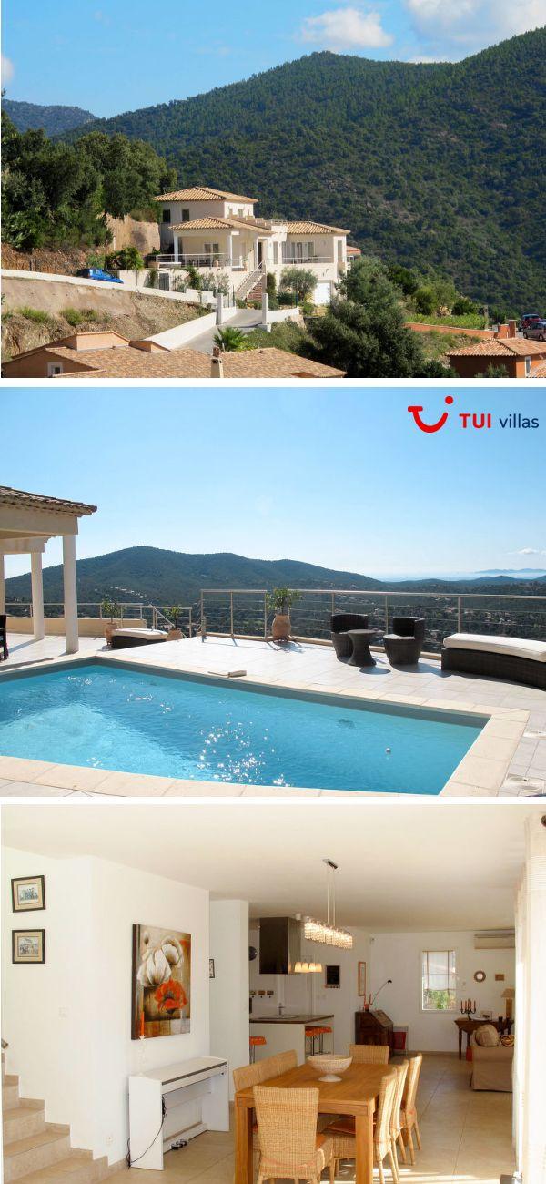 Ferienhaus für 8 Personen, Panoramablick aufs Meer, ein
