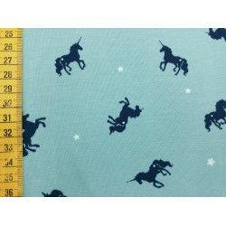 """Jerseystoff """"Unicorn mint"""""""