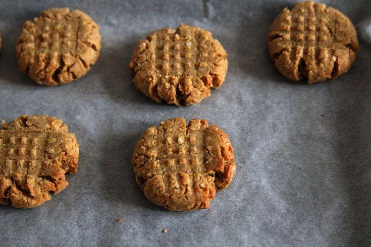 Peanutbutter cookies | SvačinkyProAnču.cz