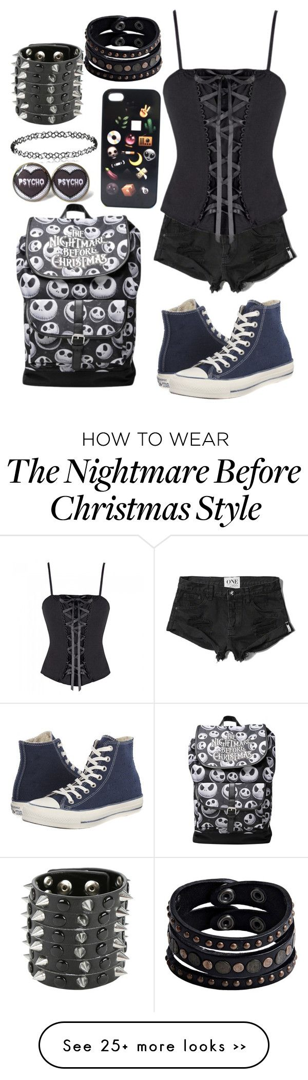 """Untitled #951"" by kellyjellybelly on Polyvore featuring Abercrombie & Fitch, Converse and Replay"