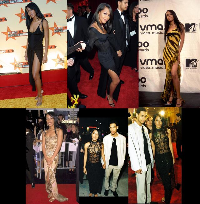 Aaliyah Singer Outfits | Aaliyah in her prime. Completely GLAM. And a little sassy with her own ...