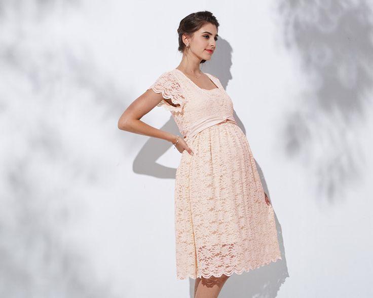 Vestiti da cerimonia in pizzo | SWEET MOMMY vendita online di abiti e vestiti in pizzo da cerimonia premaman per donne in allattamento e in gravidanza.