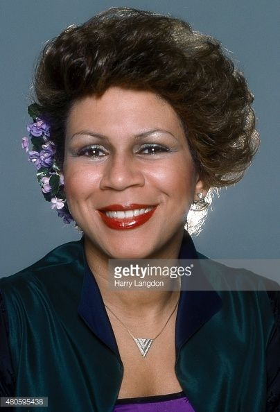 Singer Minnie Riperton poses for a portrait in 1977 in Los Angeles, California.