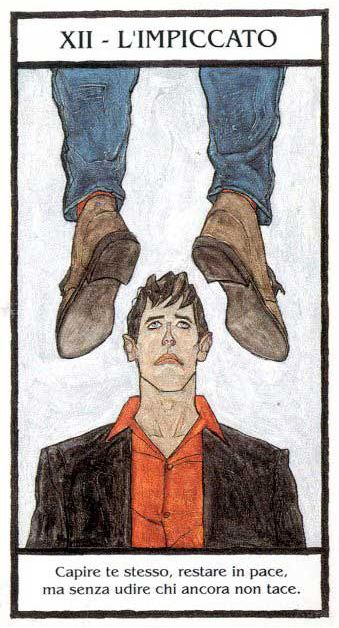 The Hanged Man - Dylan Dog: Tarocchi dell' Incubo