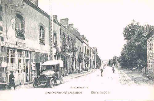 Chantrigné - Rue Principale (vers 1920)