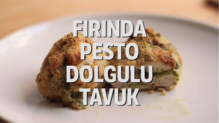 Fesleğen ve Peynirin Mükemmel Aromasını Birleştiren Pesto Dolgulu Tavuk