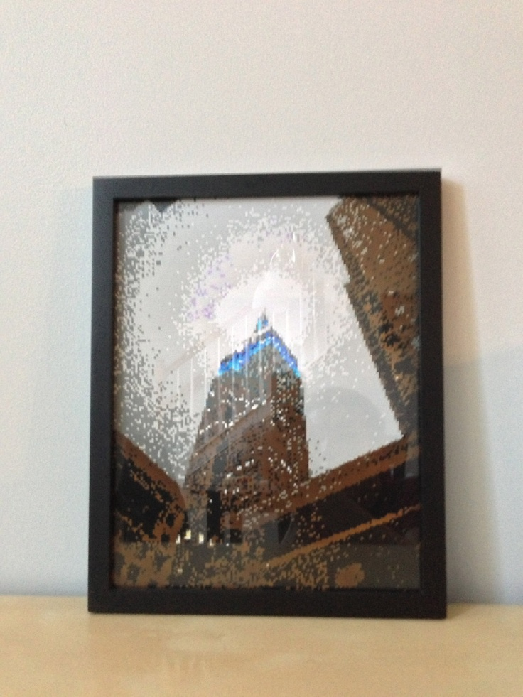 8 bit empire state pixel art via etsy pixel for 8 bit decoration