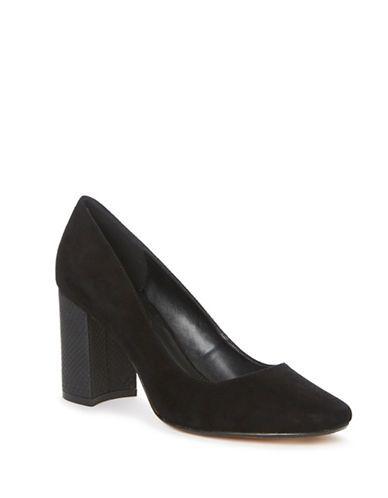 Shoes   Heels & Pumps   Abelle Suede Pumps   Hudson's Bay