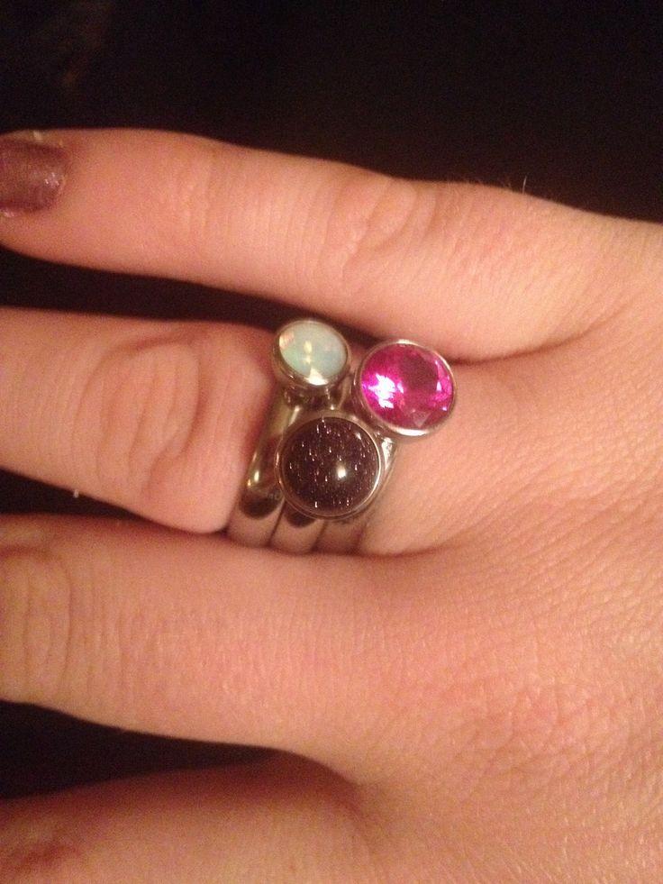 Mijn eigen Melano ringen!