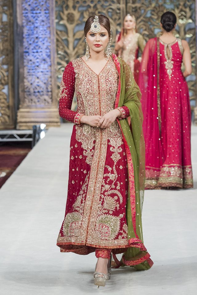 Bridal Zaheer Abbas 2014 Latest PFW Collection