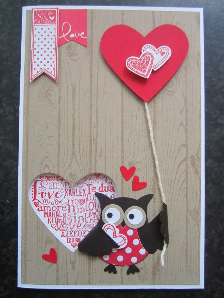 Valentine by Stampin Jacqueline with Language of Love