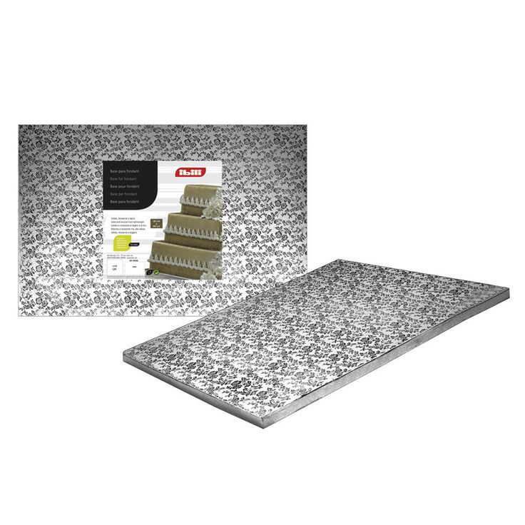 Base para pastel de fondant rectangular