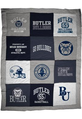 Stay warm this winter with your very own Butler University blanket!