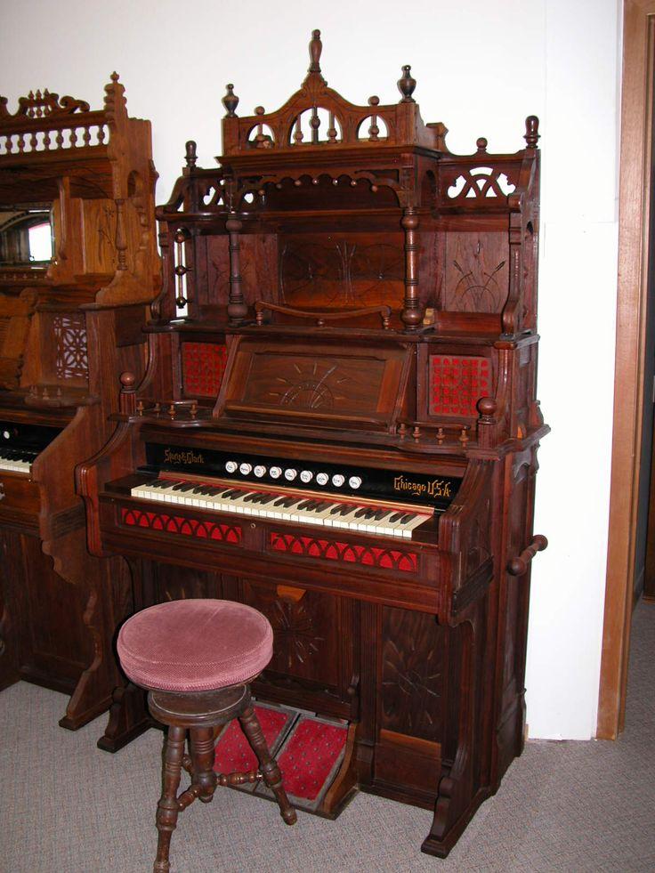 Vintage Pump Organ 43