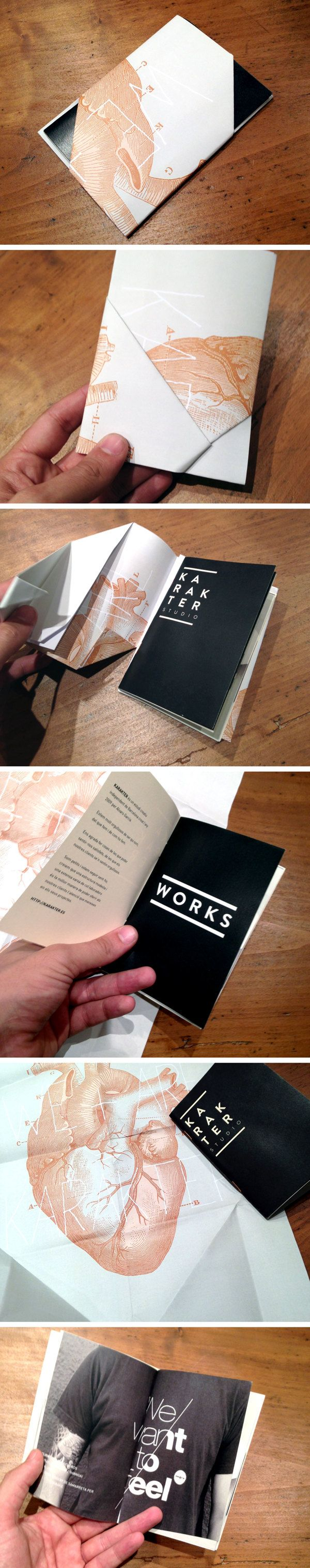 Printed Dossier by Karakter , via Behance #portfolio #designer // Editorial, cartell incorporat en un catàleg. Disseny.