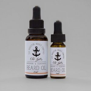 Beard oil, two sizes available. Give your beard some TLC