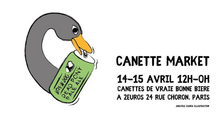 Paris Food & Drink Events: Canette Market