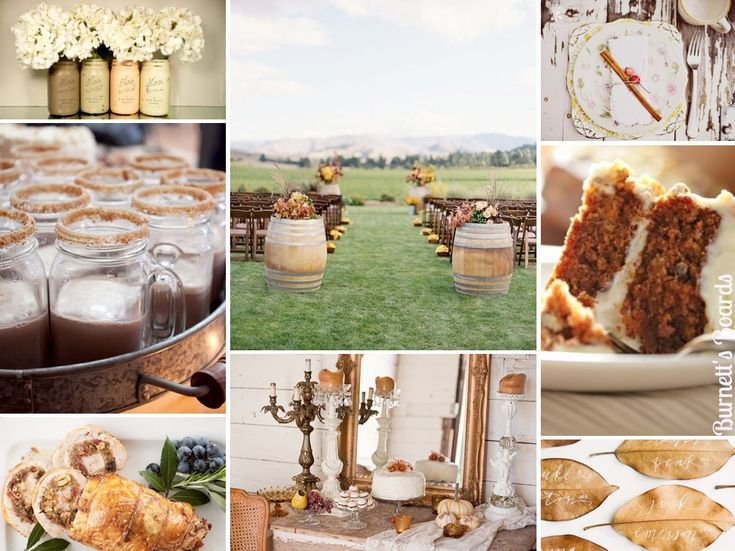 {a thanksgiving wedding} rustic and warm and perfect for autumn wedding inspiration and ideas http://burnettsboards.com/2012/11/thanksgiving-wedding/