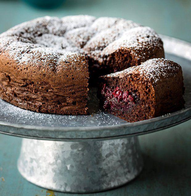 Ovocný sněhový koláč , Foto: kuchařka Čokoláda