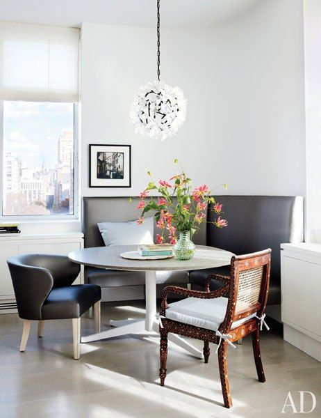 Julianna Margulies's Manhattan Dining Area