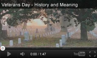Video: Veterans Day History and Meaning + Related Activities for Grades 1-5